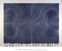 Linn Meyers - Untitled, 2007, ink on mylar, 41