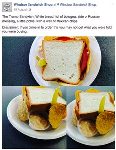 Could this sandwich be about to become one of the most profitable Donald Trump-related ventures?