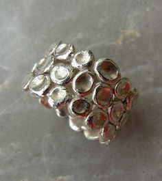 Circles ring / Sterling silver ring / Women sterling by shmukies