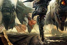 Megapost: Arte futurista y naves espaciales (Parte VII) - Taringa!