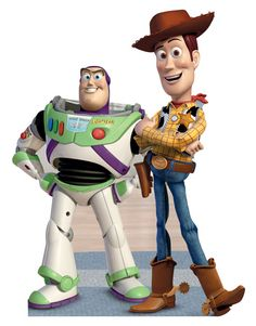 Toy Story - Buzz and Woody Stand Up