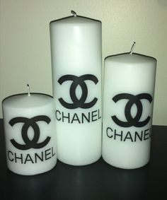 Chanel candle set
