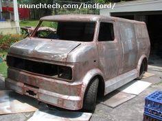 custom CF van back to bare metal ready for etch primer