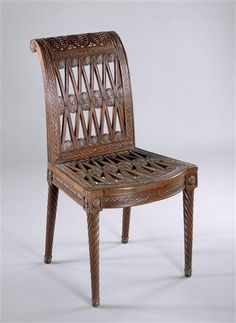 Furniture made for Marie Antoinette's dairy at Rambouillet. (C) RMN-Grand Palais (Château de Versailles) / Droits réservés