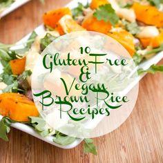10 Gluten-Free and Vegan Brown Rice Recipes
