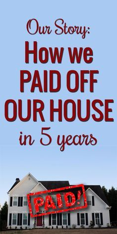 How to pay off your mortgage. Awesome inspiration! Love this story and tips! | www.viewalongtheway.com | #debt #mortgage