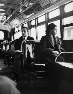 """Rosa Parks - """"I knew someone had to take the first step and I made up my mind not to move."""""""