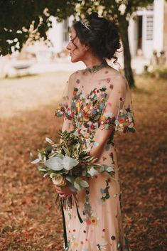20 Non-Traditional Bridal Outfits That Wow If you are an offbeat bride and are looking for a special outfit for your big day, we've got some ideas for you, gals! Take a look at our roundup with . Boho Wedding, Wedding Gowns, Dream Wedding, Unique Wedding Dress, Colored Wedding Dresses, Alternative Wedding Dresses, Nontraditional Wedding Dresses, Wedding Dresses Non Traditional, Traditional Outfits