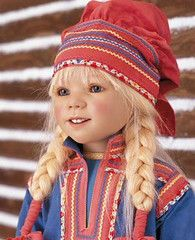 """Katiina of Finland, by Annette Himstedt, 2005, LE 377,   38"""""""