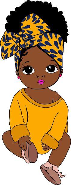Black Love Art, Black Girl Art, Art Girl, Black Art Painting, Black Artwork, Drawings Of Black Girls, Afrique Art, Black Girl Cartoon, Black Art Pictures