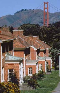 Presidio Row Houses ~ I want to rent a house at the presidio, but the waiting list is so long