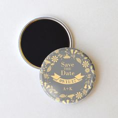 Boho Floral Save the Date Magnet