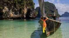 Thailand - Highlights of Bangkok, North and South - #PhiPhiLehIsland, #Thailand #Steppes No trip to Thailand would be complete without some time to relax on a white sandy beach and #Phuket offers some of the best in the country. The perfect trip for a first time visit to Thailand.