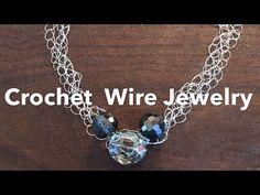 Tutorial tecnica Wire Crochet (uncinetto) con inbettiva contro i bambini intelligenti - YouTube