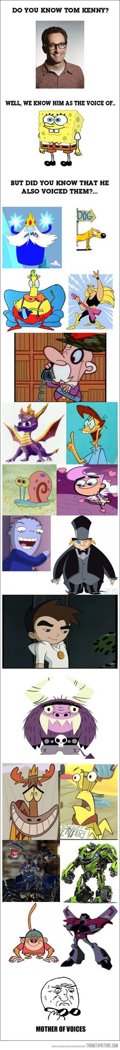 The amazing talent of Tom Kenny