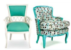 •Chaircouture: #Shabby chic? Non. Shabby sleek! French and Italian #vintage seating refreshed with a contemporary sensibility.