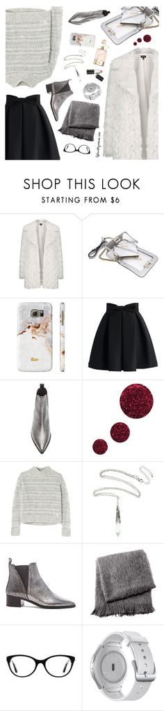 """""""Untitled #516"""" by the92liner ❤ liked on Polyvore featuring Topshop, Mohzy, Chloé, Samsung, Chicwish, Acne Studios, Rebecca Taylor, From the Road, Vogue and Sigma Beauty"""