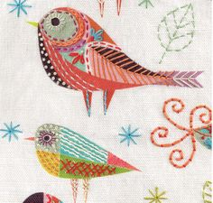 Here we have our Bluebird cushion kit and Bird Dance cushion kit with details … http://www.nancynicholson.co.uk/cuckoo.html