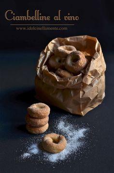 I dolci nella mente: Ciambelline al vino.....e un incontro mi aspetta!!!