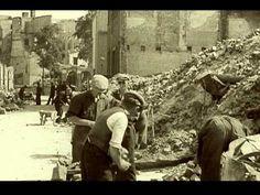 Beelden na het bombardement van Rotterdam op 14 mei 1940