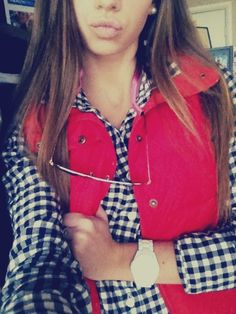 #Gingham #Fall #fashion