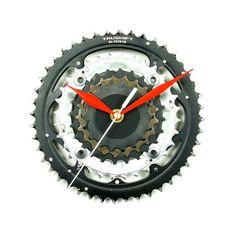 Bike Wall Clock Bicycle Clock Unique Clock Cycling Decor