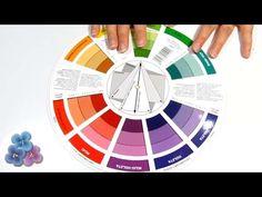 Como Combinar Colores Circulo Cromatico Pintura al Oleo y Pintura Acrili...