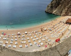 Welcome to one of the most beautiful tiny beaches in #Turkey - #Kaputas