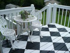 Checkerboard Deck