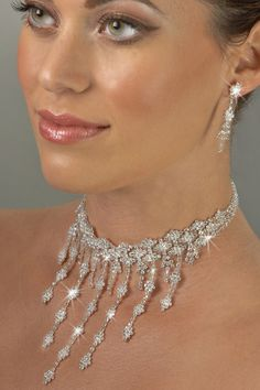 Rhinestone Pageant Jewelry Set - Imperial Classic (Crystal)