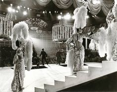 A backstage view of one of Las Vegas' spectacular shows that featured lavish outfit and headdress wearing showgirls. Description from pinterest.com. I searched for this on bing.com/images