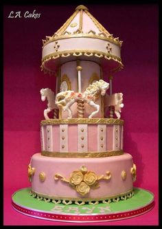 Carousel Cake - Cake by Laura Young