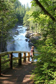Silver Falls at Ohanapecosh, WA
