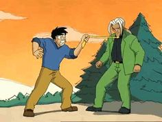 """The show was the perfect balance of serious and goofy. 
