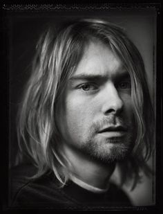 """Mark Seliger: """"Originally an inside opener for Rolling Stone cover story of Nirvana in conjunction with the release of In Utero, my first Polaroid (with Negative) was by far the most emotional and revealing of his spirit. Two months later Kurt died from a self-inflicted gunshot wound to his head. This photograph became the memorial RS cover."""""""
