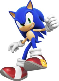 #Sonic from the official artwork set for #SonicColors on #NintendoDS. #SonictheHedgehog. http://sonicscene.net/sonic-colours