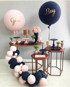 Best Selected Creative Baby Shower Themes 2019 - Page 8 of 22 - hairstylesofwomens. com baby shower ideas;baby shower ideas for boys; reveal ideas for party Deco Baby Shower, Fiesta Baby Shower, Shower Party, Baby Shower Parties, Baby Boy Shower, Shower Games, Baby Party, Babby Shower Ideas, Baby Shower Balloon Ideas