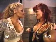 Day In History: 6th September, 2006 - Lita & Trish Stratus backstage