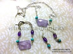 WHIMSICALNQUIRKY.COM.MY: AMETHYST JEWELRY SET