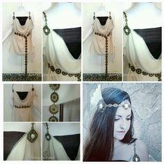 Vestido de Valquiria listo para enviar de FairyCaveShop en Etsy