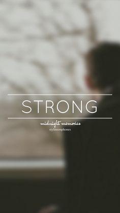 Strong • Midnight Memories Lockscreen — ctto: @stylinsonphones