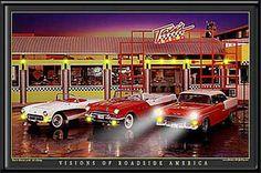 Rosie S Diner Cedar Rock Where I Met My Husband Poster