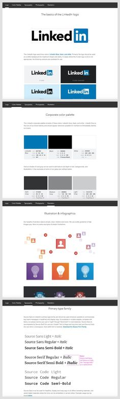 272 Best Brand Guidelines, Style Guides & More Templates images in
