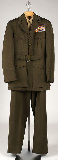 Military Uniform - American 1951 - 1958