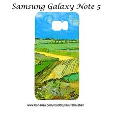 Van Gogh Farm Plains Samsung Galaxy Note 5 Case Cover Wrap Around