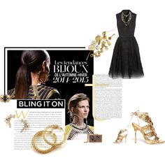 """Style Mission 4 Nº18: Bling bling!"" by belldraw on Polyvore"