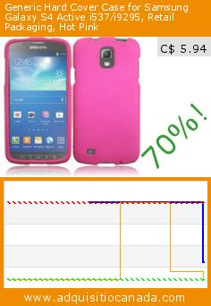 Generic Hard Cover Case for Samsung Galaxy S4 Active i537/i9295, Retail Packaging, Hot Pink (Wireless Phone Accessory). Drop 70%! Current price C$ 5.94, the previous price was C$ 19.99. http://www.adquisitiocanada.com/hr-wireless/samsung-galaxy-s4-active