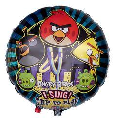 Singender Angry Birds Ballon