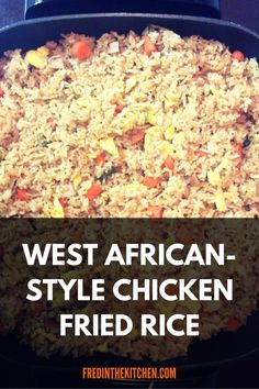 Try this fried rice recipe.