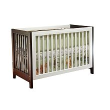 Sorelle Commuter Two Tone Convertible Crib